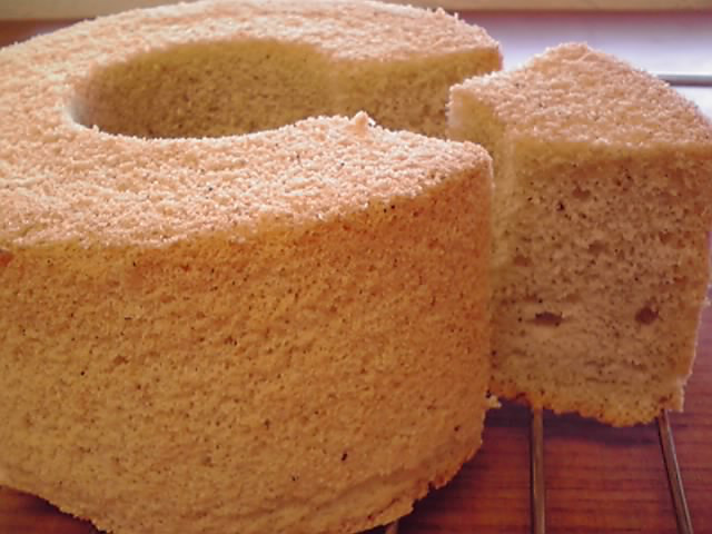 五穀米シフォンケーキ