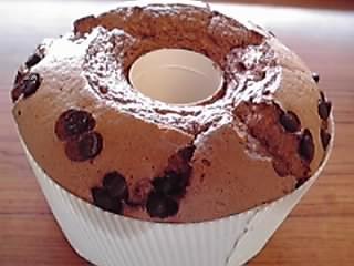 米粉ショコラシフォンケーキ
