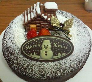 クリスマスケーキ米粉ショコラ2006