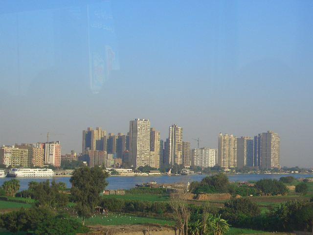 カイロの街並み
