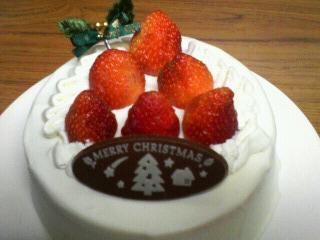 米粉クリスマスケーキ2007
